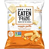 Off the Eaten Path Veggie Puffs White Cheddar, 16Count