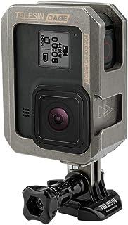 TELEISN Aluminum Case Frame for GoPro Hero 8 Black,Multi-Function Frame with Vertical and Horizontal Modes,Skeleton Housin...