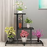 Twhep 3 Tier Metal Plant Stand, Large Multi Tiered Plant Shelf for Multiple...