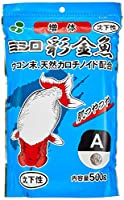 ミシロ 彩金魚 稚魚増体用A 沈下性 500g
