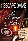 Escape game de poche - Alex et le secret de Molière par Raffaitin
