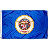Sports Flags Pennants Company State of Minnesota Flag 3x5 Foot Banner