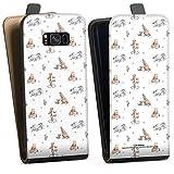 DeinDesign Étui Compatible avec Samsung Galaxy S8 Plus Duos Étui à Rabat Étui magnétique Winnie...