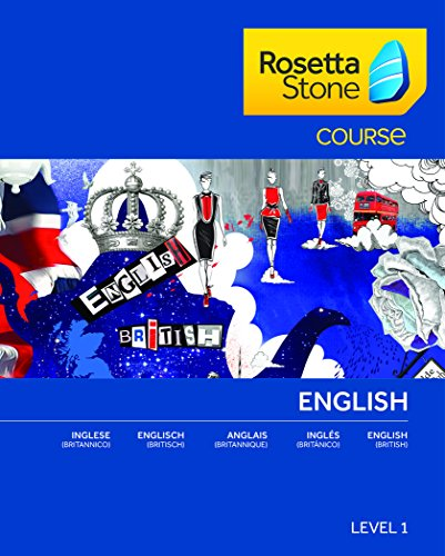 Rosetta Stone Anglais (Britannique) Niveau 1 pour Mac