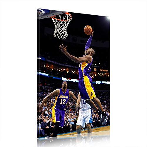 NBA Kobe Bryant Canvas Art Prints Poster Basketball Artwork for Office Home Decor (Prints-29,60x90cm)