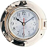 Sh! 7,5'Ojo de Buey Reloj de Cuarzo latón Pulido