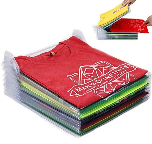 Nifogo Organizer per Armadio Closet Organizer Camicia Cartella Dimensioni Regolari (30pcs)