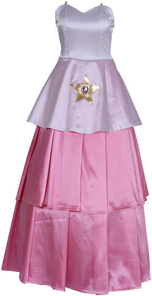 Steven Universe Women's 国内在庫 オンラインショッピング Rose Quartz S Costume Dress Plus Cosplay