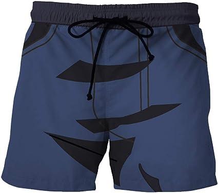 Playa Pantalones Tablero Shorts Pantalones Cortos De Playa Para Hombre De Verano Patron De Costura Negro Azul Oscuro Pantalones Estampado De Dibujos Animados Hombr Amazon Com Mx Deportes Y Aire Libre