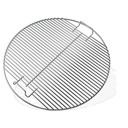 GFTIME 44,45 cm Ersatz-Grillroste für Weber 7432 Kettle Grill Heavy Duty Fit 47 cm One-Touch Weber Holzkohle Smokey Mountain Cooker Smoker Smoke Gas Grill
