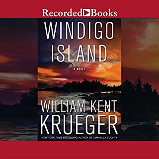 Windigo Island audiobook cover art