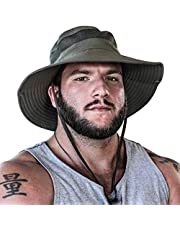 GearTOP Fishing Hat and Safari Cap with Sun Protection - Premium Hats for Men and Women…