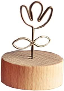 Kangkang @ Set of 2 ZAKKA Metal Wire Flower Memo/Message/Photo/Card Holder Desk Accessories wind rural creative, wrought iron photo log