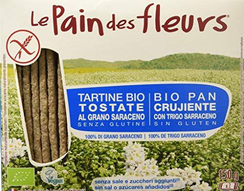 Pain Des Fleurs Tartine Tostate al Grano Saraceno senza Sale - 150 g