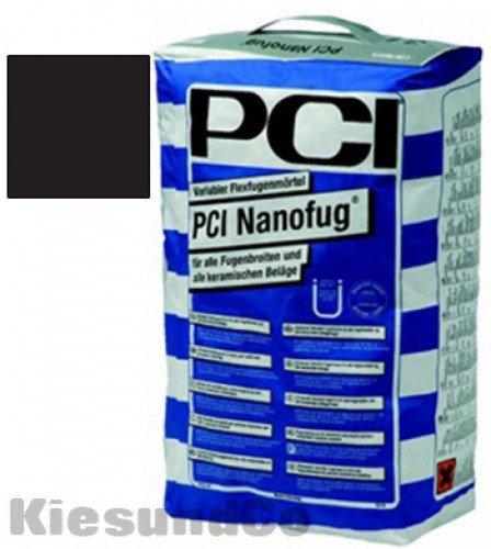 PCI NANOFUG SCHWARZ 4 kg Beutel Flexfugenmörtel Fugenmörtel - Für alle Fugenbreiten - innen, außen, Boden und Wand