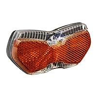 2 superhelle LEDs Bremslichtfunktion Standlicht Automatik wartungsfrei integrierter Z-Großflächenrückstrahler Montageabstand wählbar 50 oder 80 mm
