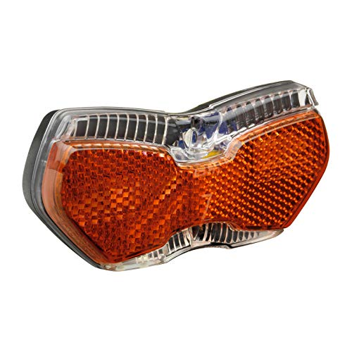 Busch & Müller LED-Rücklicht TOPLIGHT View Brake plus 50/80 mm Vario Dynamo, Rot, 10 x 3 x 3 cm