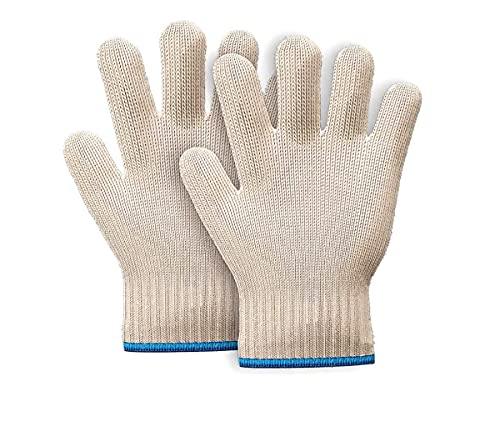 HAADI Oven Gloves(1 Pair) Heat Resistant With Fingers Non-Slip Microwave Roster Gloves, Double-sided Oven Mitt For Handling Hot Surface,Cooking Trays And Hot Utensils,Baking & Fireplace Grilling