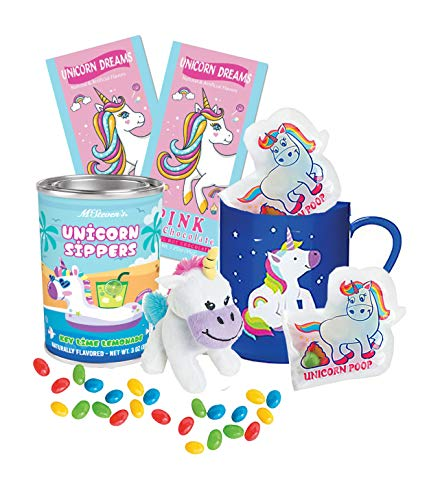 Gift Sets For Girls Unicorn Gift Baskets For Girls Christmas Unicorn Stocking Stuffers for Girls - Unicorn Stuff - Unicorn Hot Chocolate , Marshmallows, Mug, and Candy