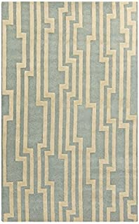 Surya Candice Olson Modern Classics CAN-2022 Hand Tufted 100-Percent New Zealand Wool Geometric Accent Rug, 3-Feet 3-Inch by 5-Feet 3-Inch