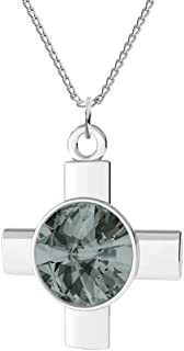 Best swarovski black crystal cross necklace Reviews