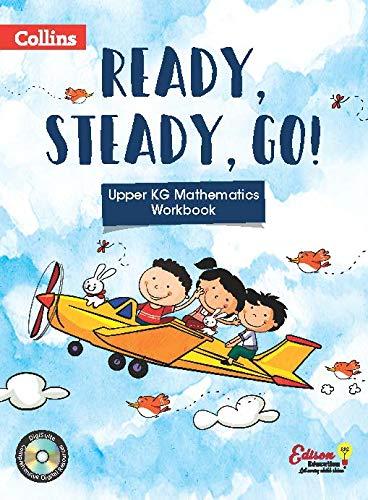 Ready, Steady and Go-UKG Maths Workbook