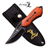 Forevergifts Free Engraving - Quality Fixed Blade Knife 6' Overall