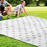 Outdoor Reversible Mats Patio Rug Large Floor Mat and Rug Plastic Straw Rug,Fade Resistant Area Rug for Outdoors, Indoor RV, Patio, Backyard, Deck,Picnic, Beach, Trailer, Camping Beach Mat (9' x 12')