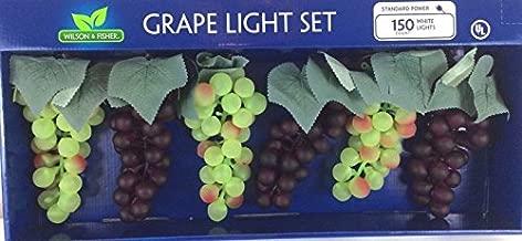 Wilson & Fisher Deluxe Grape Cluster Light Set,