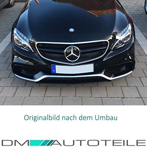 51aAaOibQbL - DM Autoteile Stoßstange vorne +Grill+ Zubehör passend für C-Klasse S205 W205 C63 15>