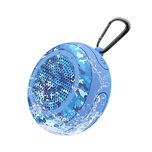 CYBORIS Bluetooth Lautsprecher, tragbar kabellos IPX7 wasserfest schwimmender Bluetooth Lautsprecher mit TWS Funktion, tiefer Bass, Stereo Pairing, langlebig für Schwimmbad, Strand, Dusche, Reisen