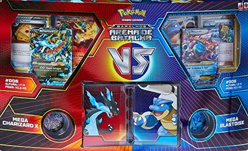 Jogo de Cartas Pokemon Box Arena de Batalha, Copag, Multicor