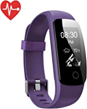 Lintelek Fitness Tracker with Heart Rate Monitor, Activity Tracker,Sleep Monitor,IP67 Waterproof Pedometer with Steps Monitor,14 Sports Modes Watch for Kids Women and Men
