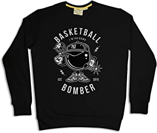 Ruse. Basketball Bombers Printed Men & Boy Sweat Shirt Winter Collection S,M,L,XL,XXL,3XL,4XL,5XL