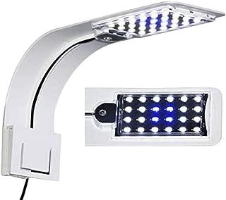 IC INSTANT COACH 10W Super Slim Aquarium Fish Tank 5730 LED Light Clip-on Lamp Aquatic Plant Lighting