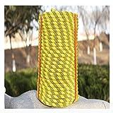 ZEH Training Seil 10mm statische Klettern im Freien Seil multifunktionale Verschleißfestigkeit ideal for Camping Wandern Hängematte technische Abseilen FACAI (Size : 20m)