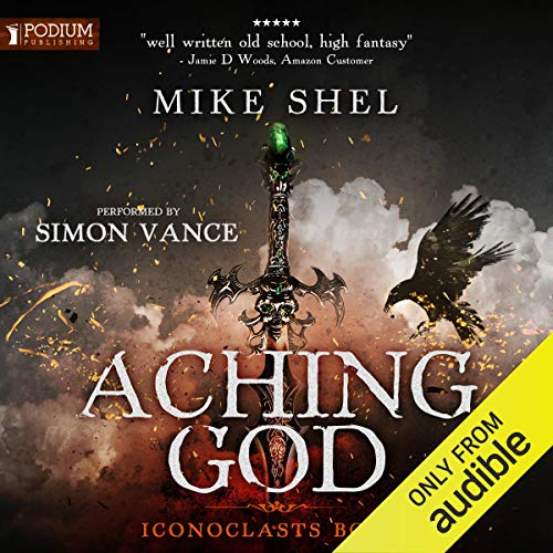 Aching God audiobook cover art