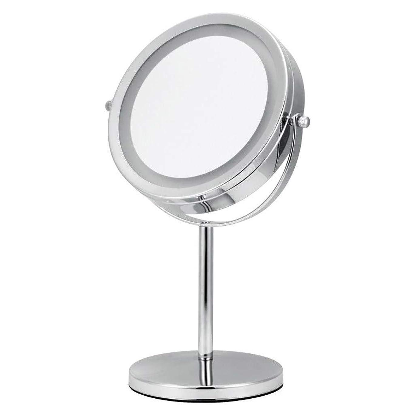 スリップシューズ苦白菜化粧鏡、化粧鏡、両面回転HDラウンド回転