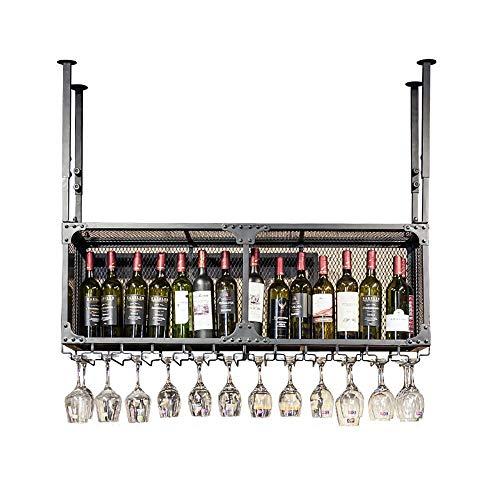 Botellero De Techo De Altura Regulable | Portabotellas