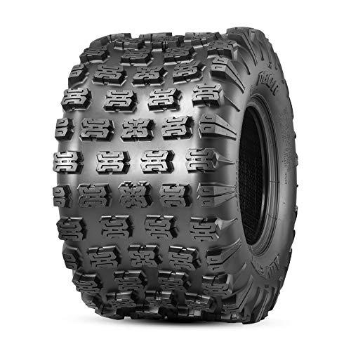 OBOR Advent ATV Tires 20x11-8, 6 Ply GNCC Champion Tires, 20x11x8 ATV Rear Tires(1 Pack)