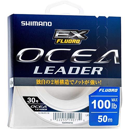 SHIMANO OCEA Leader Ex Fluoro 30 lb 0,48 mm 50 m