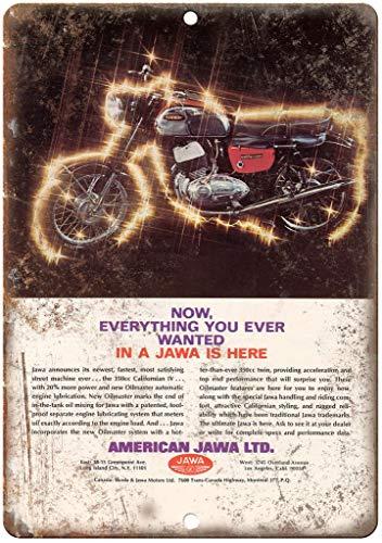 niet Jawa LTD. motorfiets Metalen tin teken schilderij decoratie Populaire IJzeren Schilderij Poster Voor bar cafe eetkamer huis club