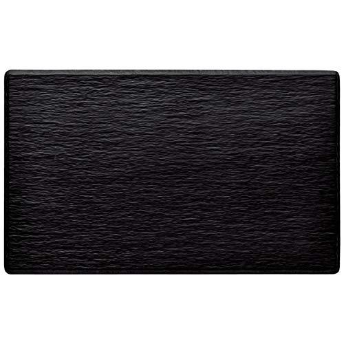 Melaminplatten Hernando, Größe GN 1/4, 26.5x16.2x1.2 cm (LxBxH), schwarz, rechteckig