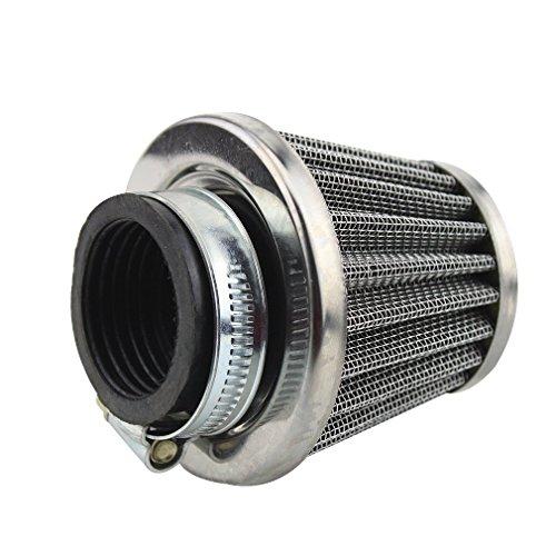 GOOFIT 35mm Luftfilter für 50cc 70cc 90cc 110cc PZ16 PZ19 Vergaser Motorrad Dirtbike ATV Roller
