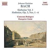 Bach: Sinfonien 1-6 Gmuer Vol 1