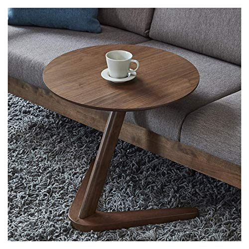 Living Room Accessories End Table Round Side Table Accent Table Shaped Wooden Texture Finish End Table Coffee Table For Living Room Bedroom Small Spaces Office Bed Sofa Couch 19.7'(D) X19.7'(H) Cof