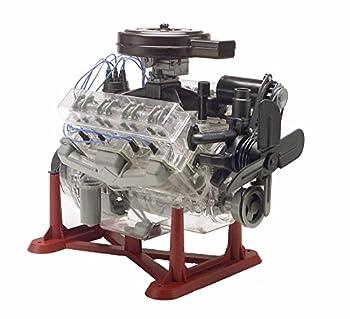 Revell 85-8883 1/4 Visible V-8 Engine Plastic Model Kit 12-Inch,Multi-Colored