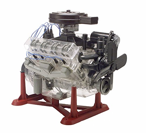 Revell 85-8883 1/4 Visible V-8 Engine Plastic Model Kit,...