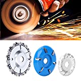 Wood Carving Disc Set, Wood Carving Disc Set Circular Chainsaw Wheel Saw Blade Cutter Woodworking Grinder Shaping Cutting Tools Cutting Grinding Shaping Plate Attachment
