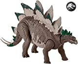 Jurassic World Stegosaurus, Figura Dinosaurio de Juguete niños +4 años, Multicolor...